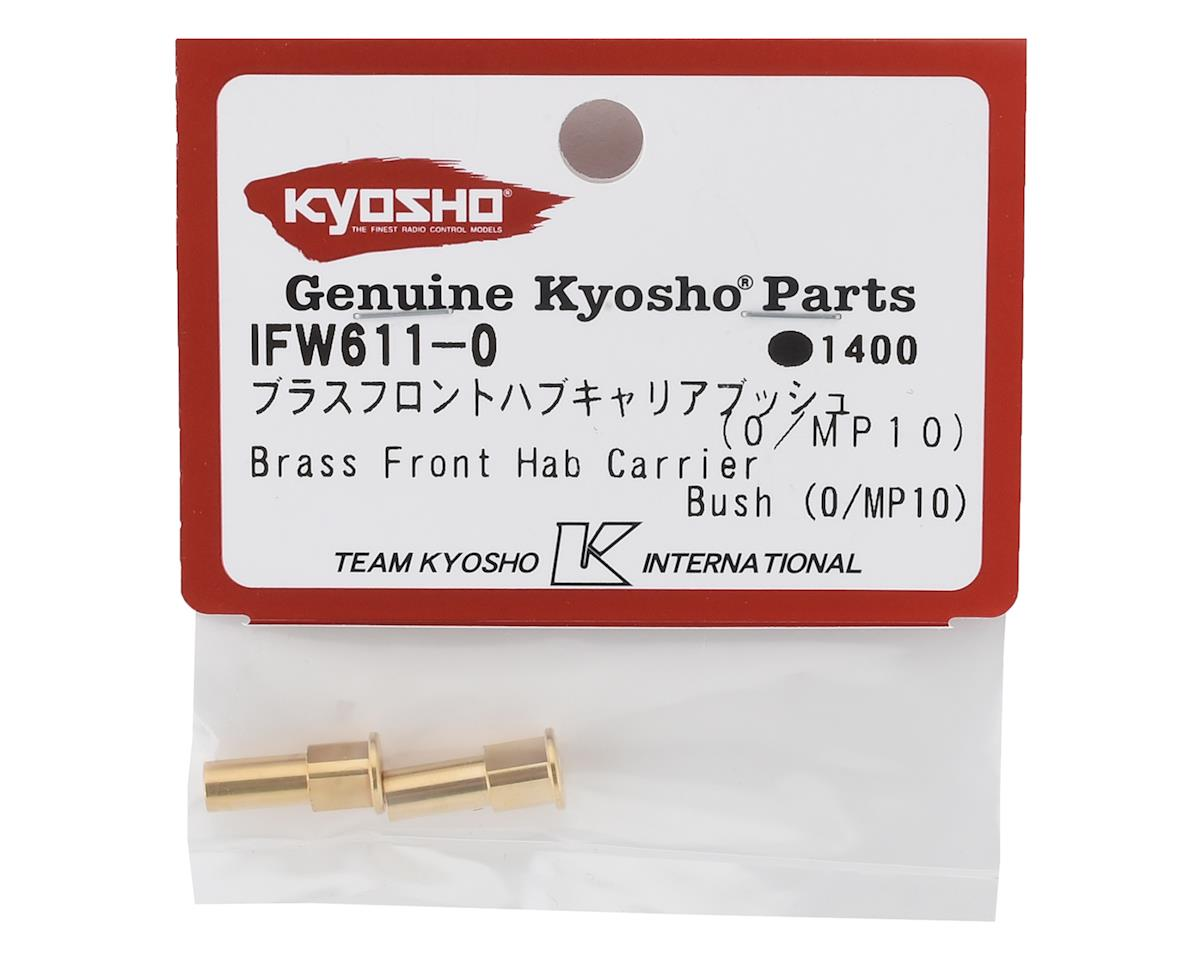 Kyosho MP10 +0 Brass Front Hub Carrier Bushing (2)