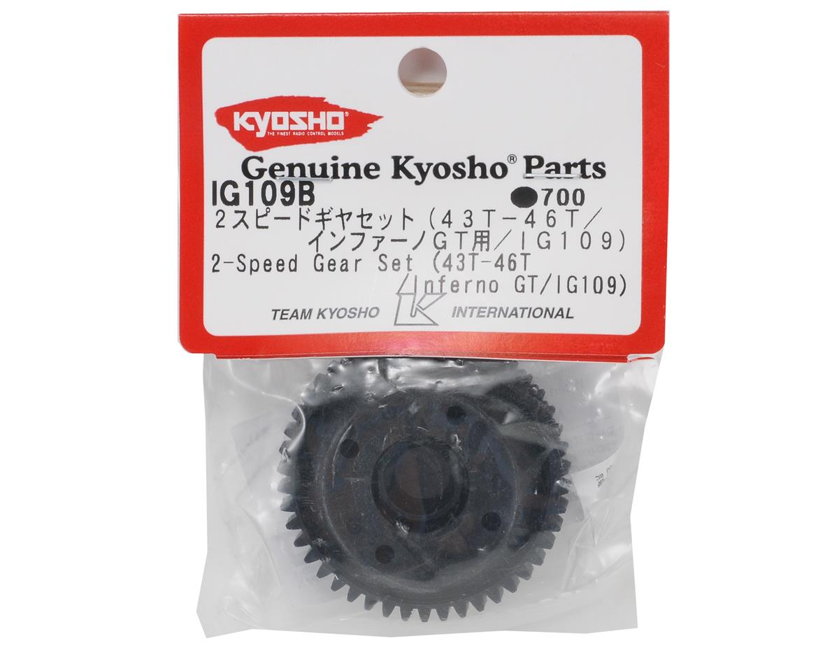 2-Speed Gear Set (43-46T) by Kyosho