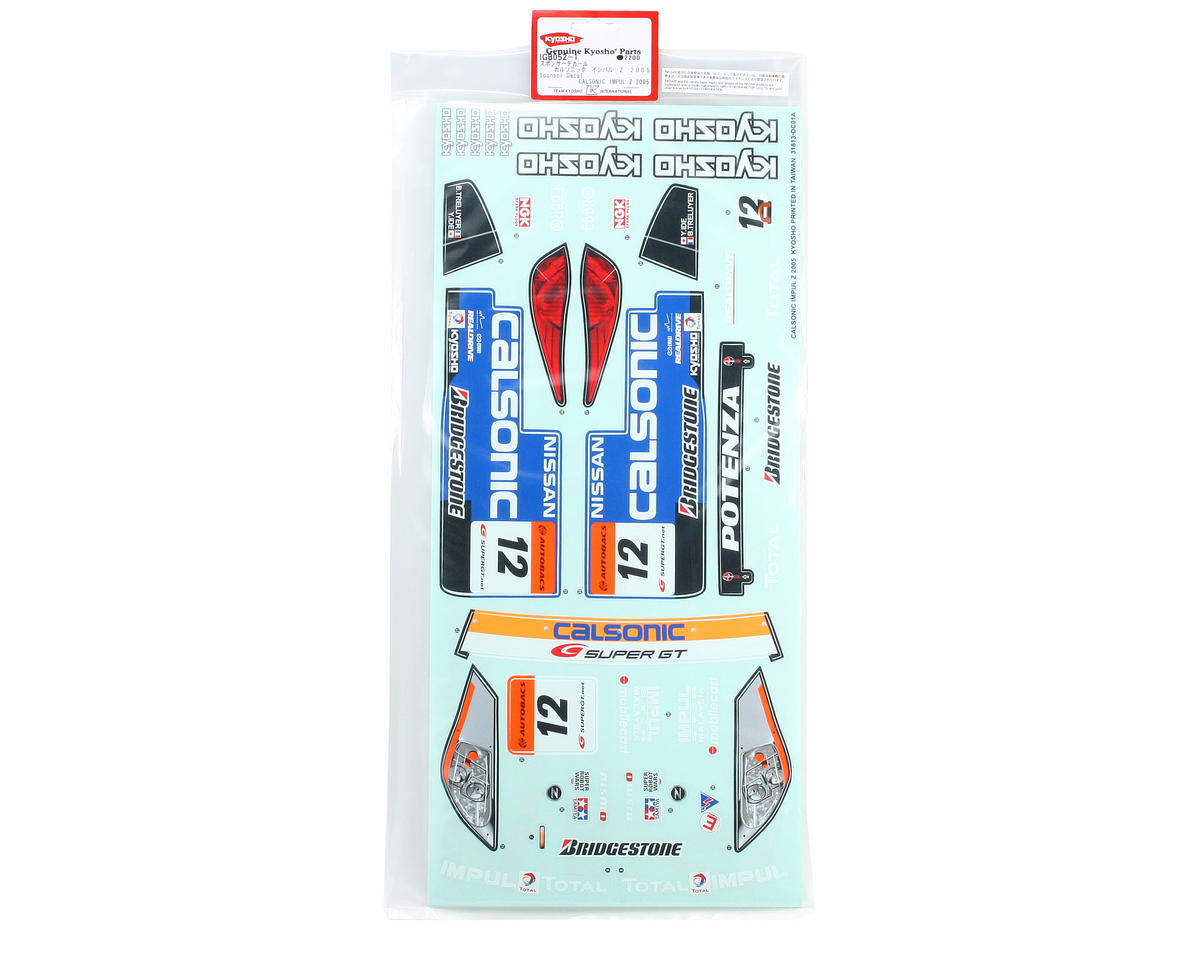 Kyosho Sponsor Decal (Calsonic Impulse Z1)