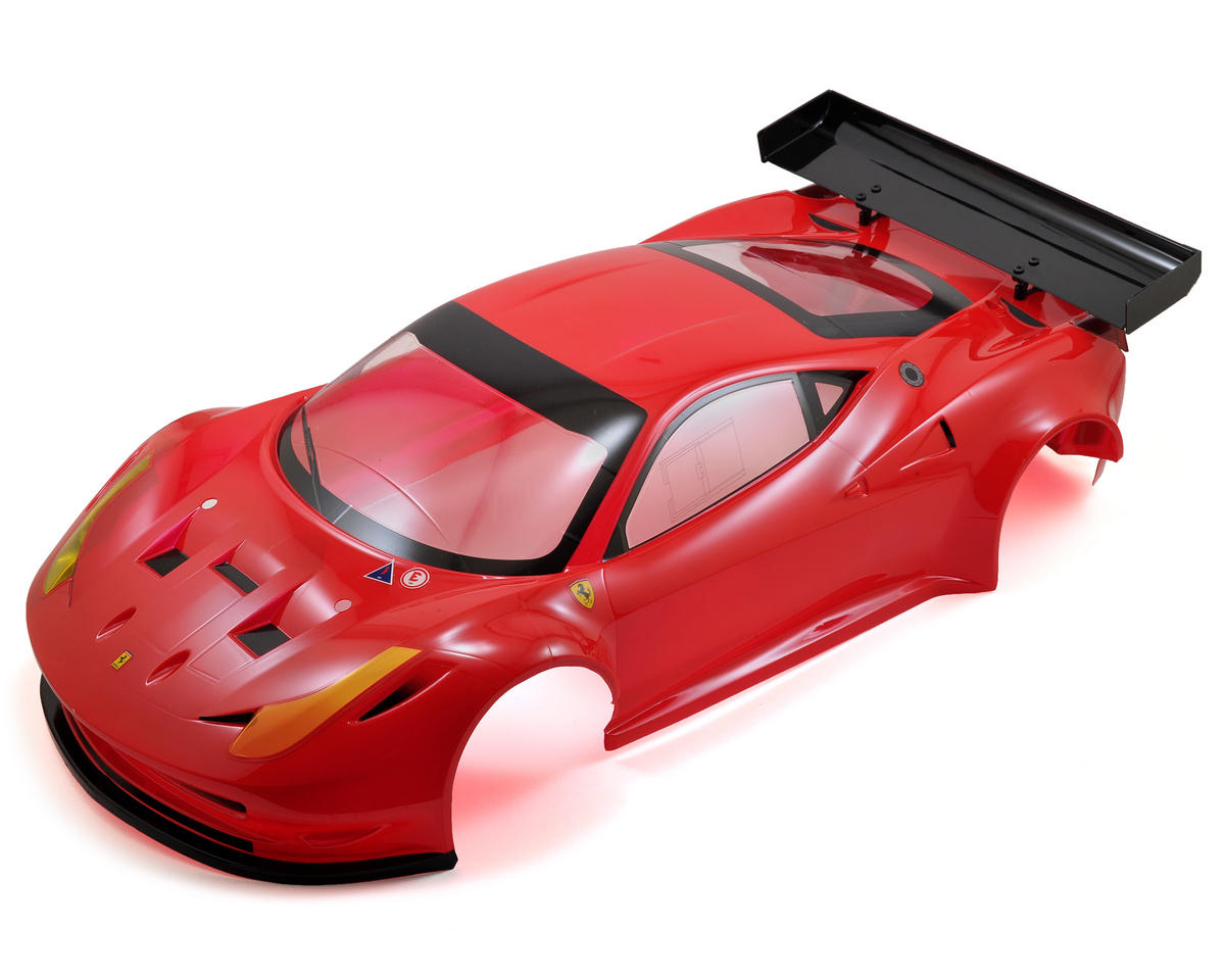 Kyosho Inferno GT/GT2 458 Italia GT2 Pre-Painted Complete Body Set