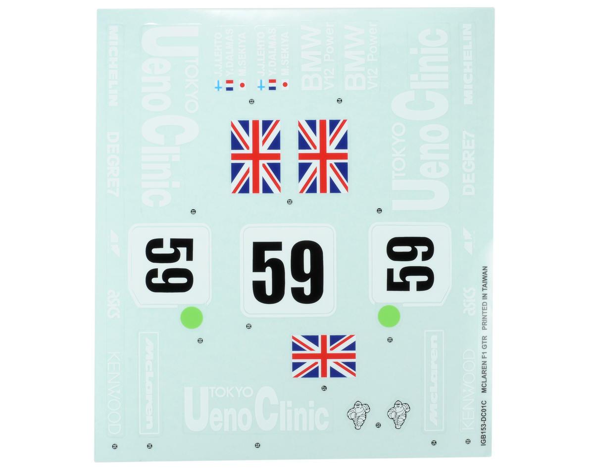 Kyosho Sponsor Sticker Set (McLaren F1 GTR)