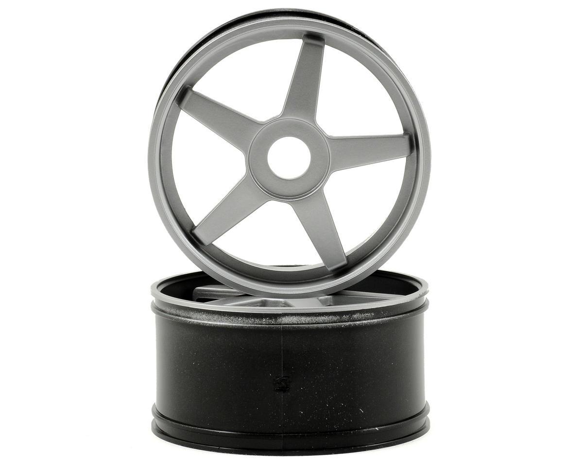 Kyosho 17mm Hex Inferno GT 5-Spoke Wheel Set (2) (Gray)