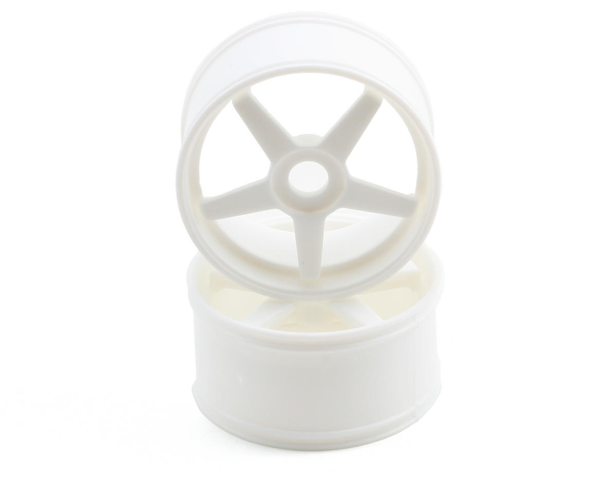 Kyosho 17mm Hex Inferno GT 5-Spoke Wheel Set (2) (White)