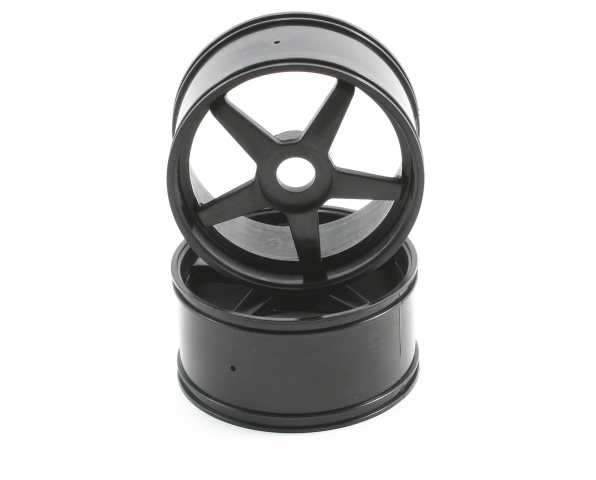 Kyosho Inferno GT/GT2 17mm Hex GT 5-Spoke Wheel Set (2) (Black)