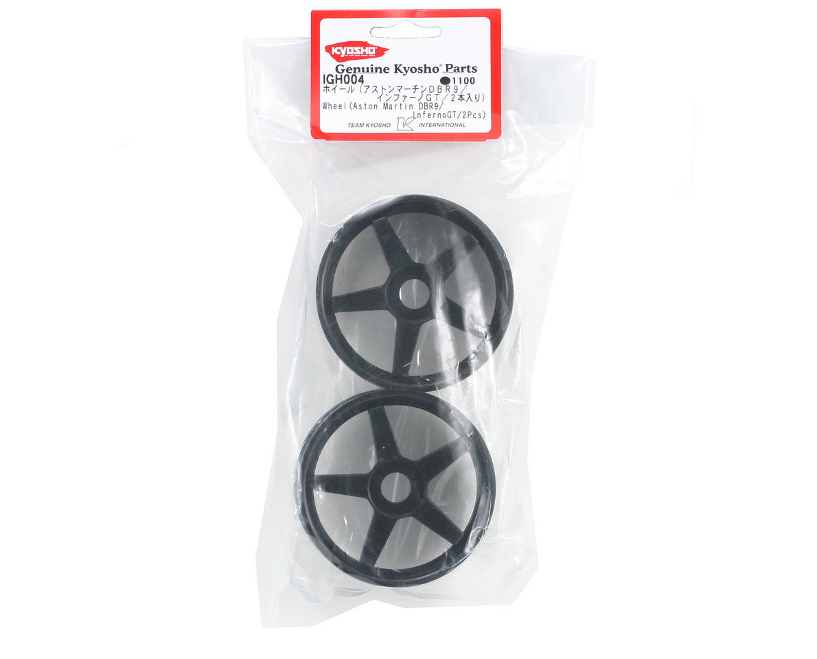 Kyosho 17mm Hex Inferno GT 5-Spoke Wheel Set (2) (Black)