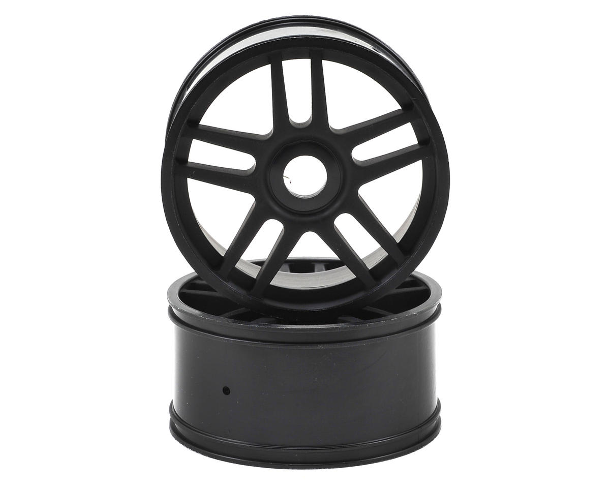 17mm Hex 10-Spoke Wheel (Black) (2) by Kyosho