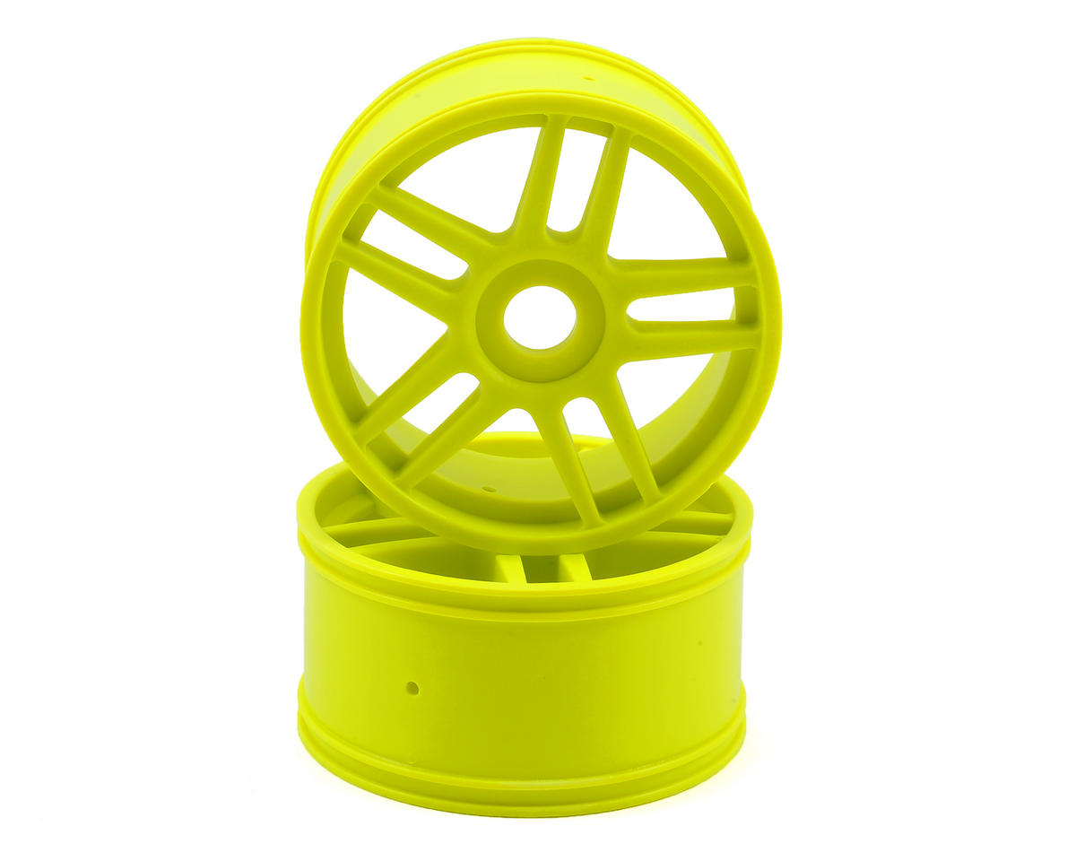 Kyosho 10-Spoke Wheel (Yelow) (2)