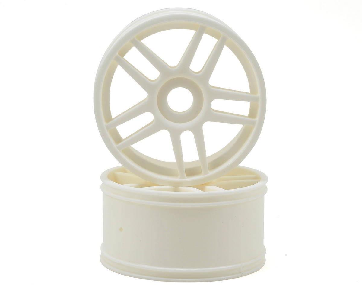 Kyosho 17mm Hex Inferno GT 10-Spoke Wheel (2) (White)