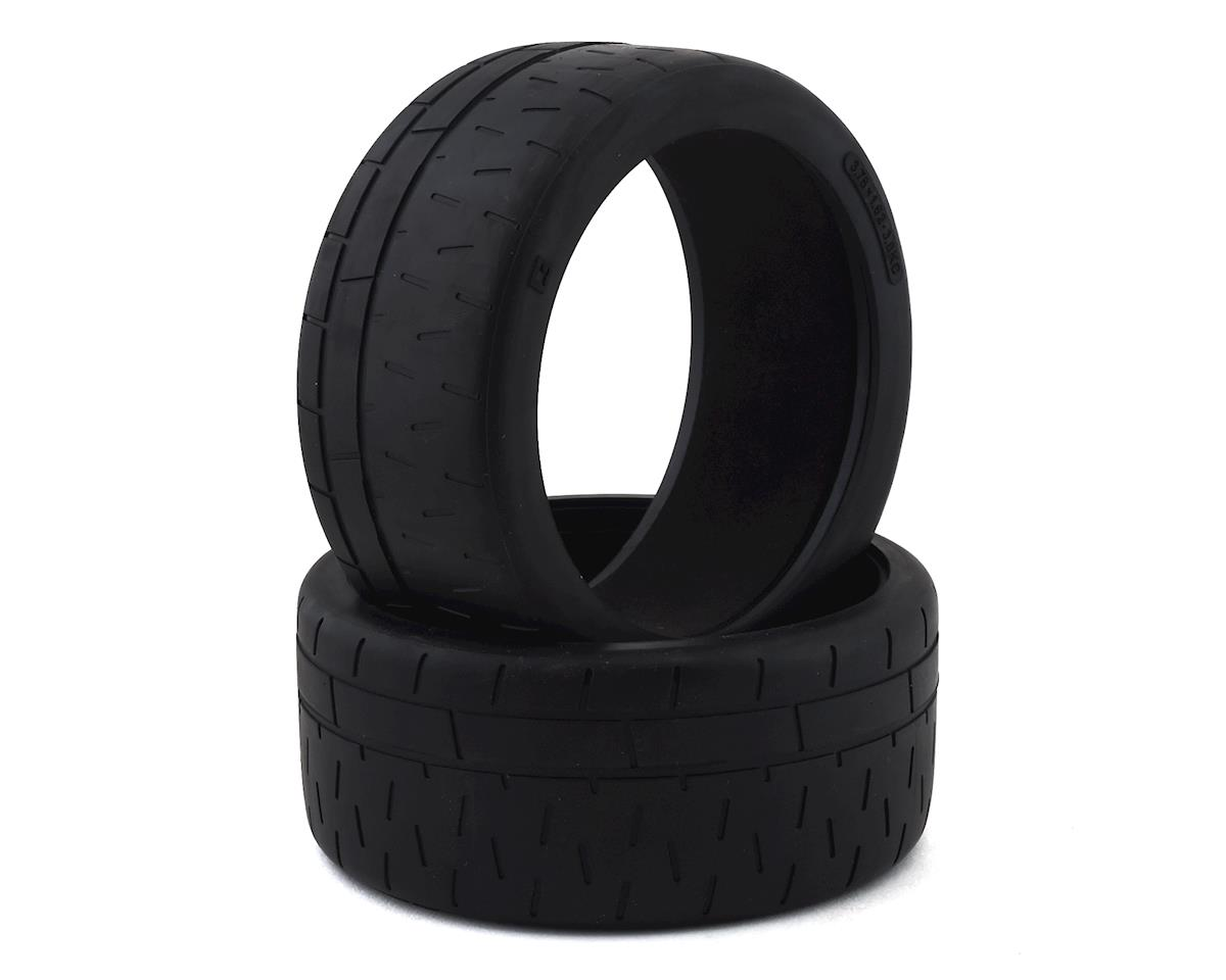 Kyosho Radial Tire w/Insert (2) (Use w/KYOIGH007)