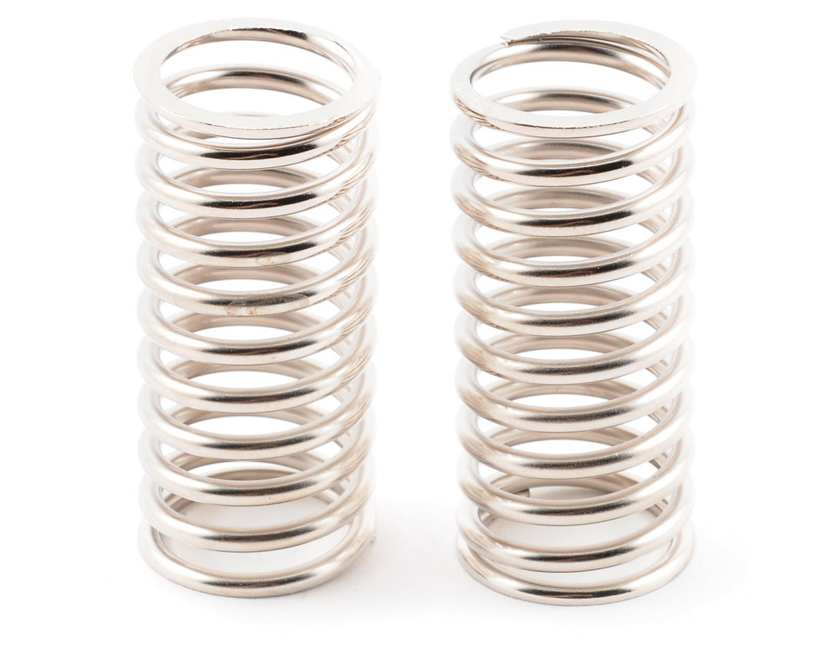 Front/Rear Shock Spring (Silver) (2) by Kyosho