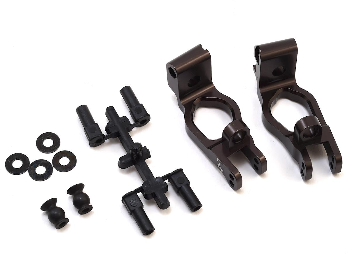 Aluminum Front Hub Carrier Set (GT3) by Kyosho