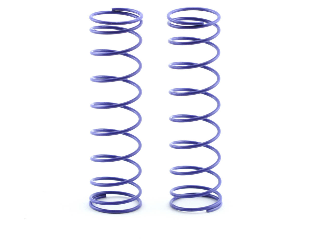 Kyosho 84mm Big Bore Medium Length Shock Spring (Purple) (2)