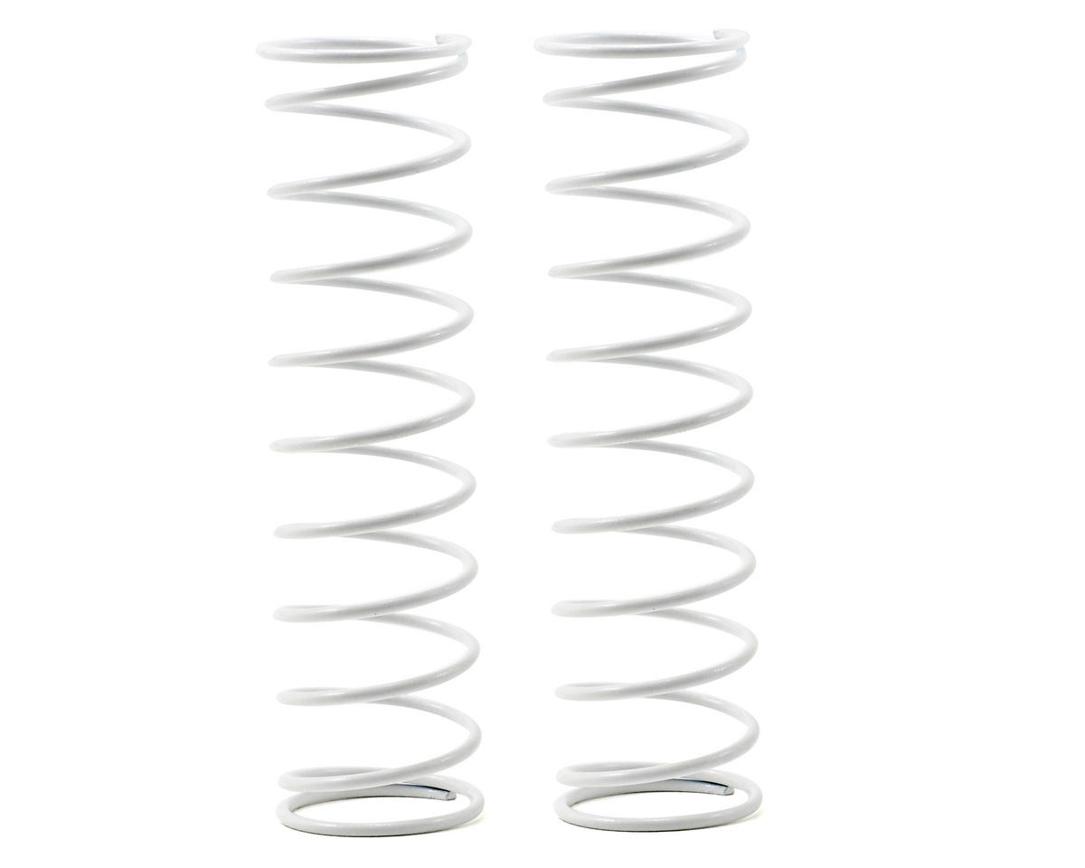Kyosho 84mm Big Bore Medium Length Shock Spring (White) (2)