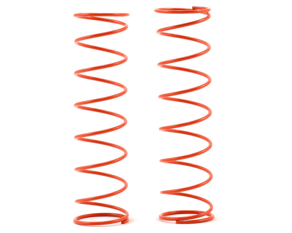84mm Big Bore Medium Length Shock Spring (Orange) (2) by Kyosho