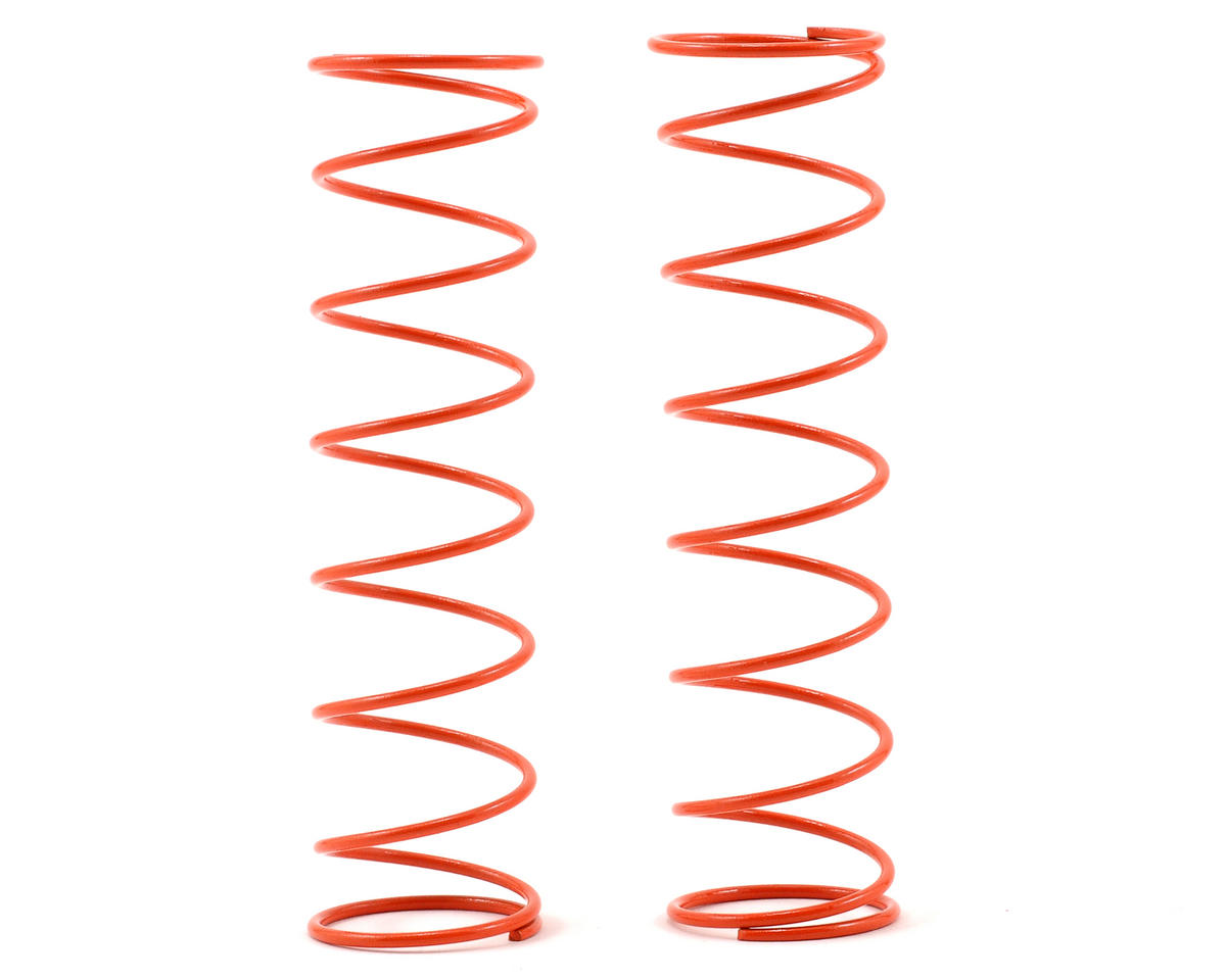 Kyosho 84mm Big Bore Medium Length Shock Spring (Orange) (2)