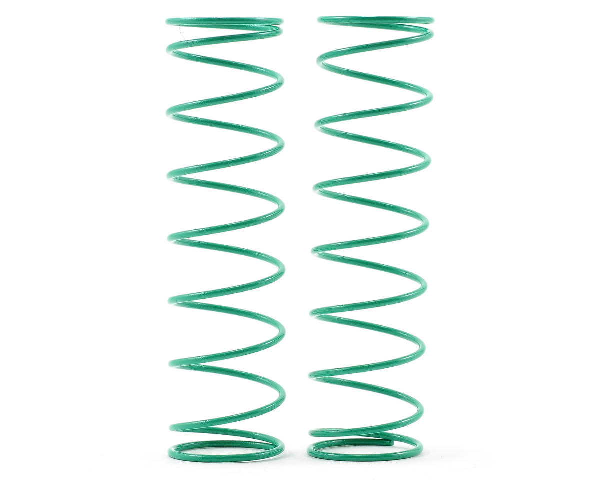 Kyosho 84mm Big Bore Medium Length Shock Spring (Green) (2)