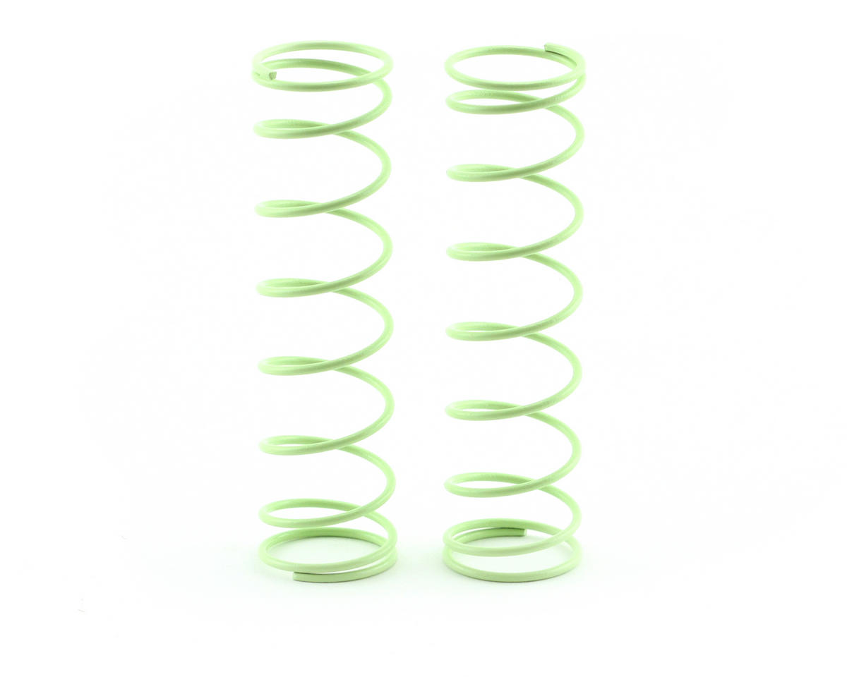 Kyosho 84mm Big Bore Medium Length Shock Spring (Light Green) (2)