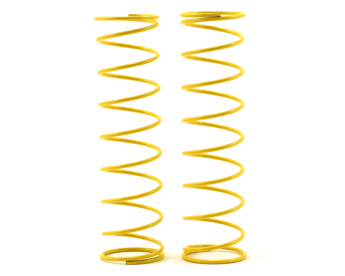 84mm Medium Length Big Bore Shock Spring (Yellow) (2) by Kyosho
