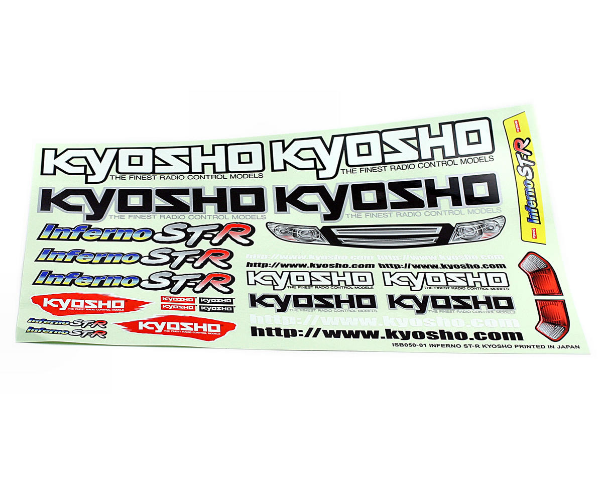Kyosho Inferno ST-R Decal Set