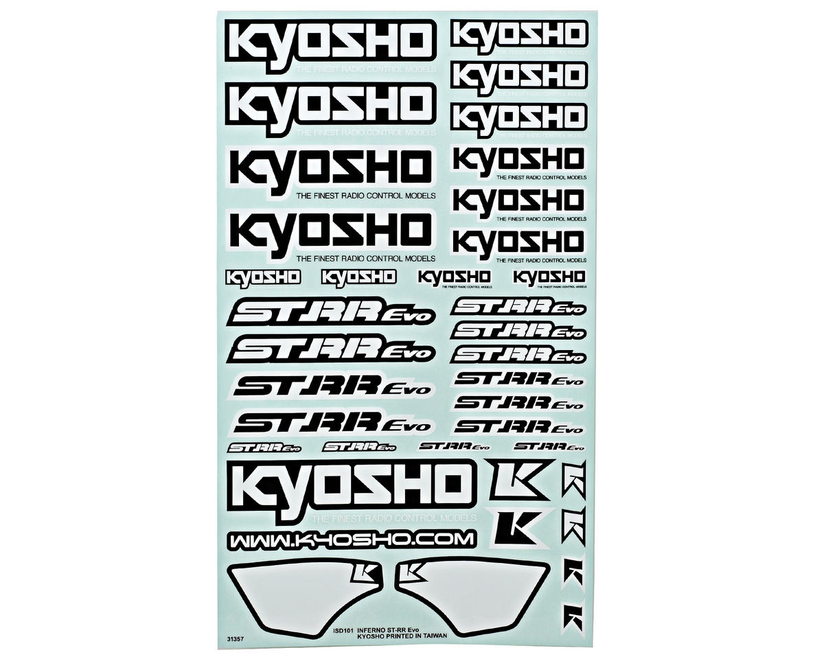 Kyosho ST-RR EVO Decal Set