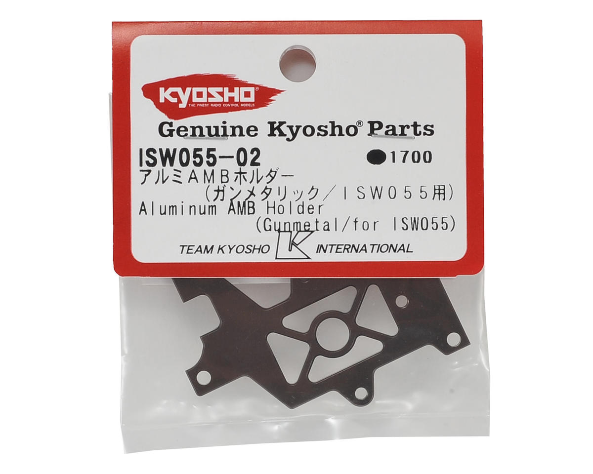 Kyosho Aluminum Battery Forward AMB Holder (Gun Metal)