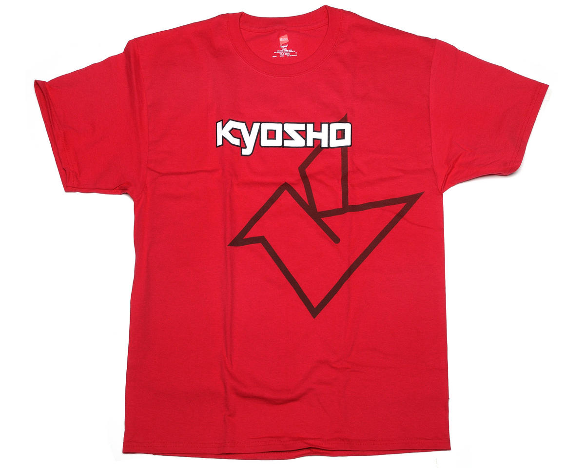"Kyosho ""Big K"" Short Sleeve Red T-Shirt (3X-Large)"
