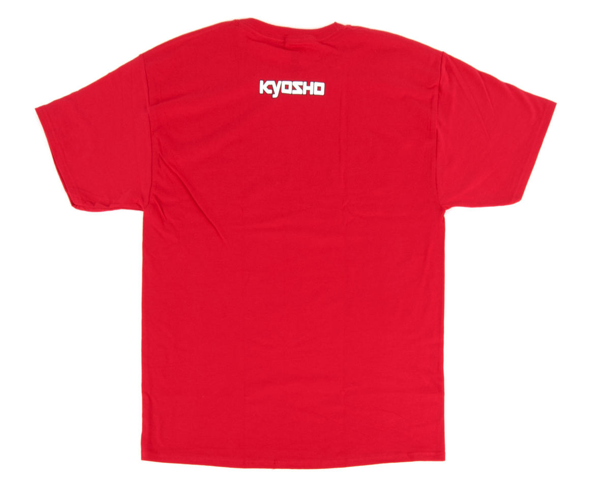 "Kyosho ""K Fade"" Short Sleeve Red T-Shirt (2X Large)"