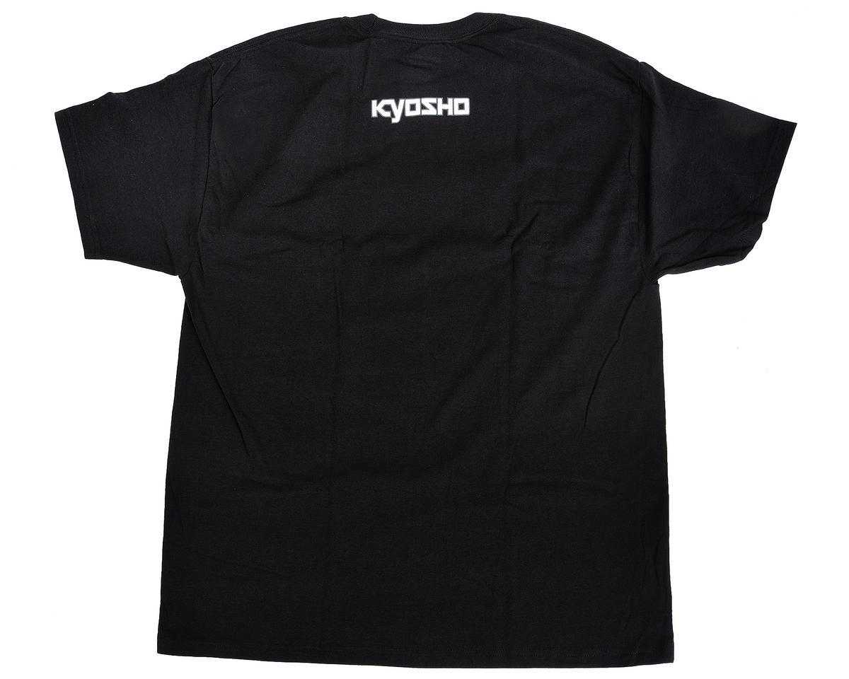 """Kyosho """"K Fade"""" Short Sleeve Black T-Shirt (2X Large)"""