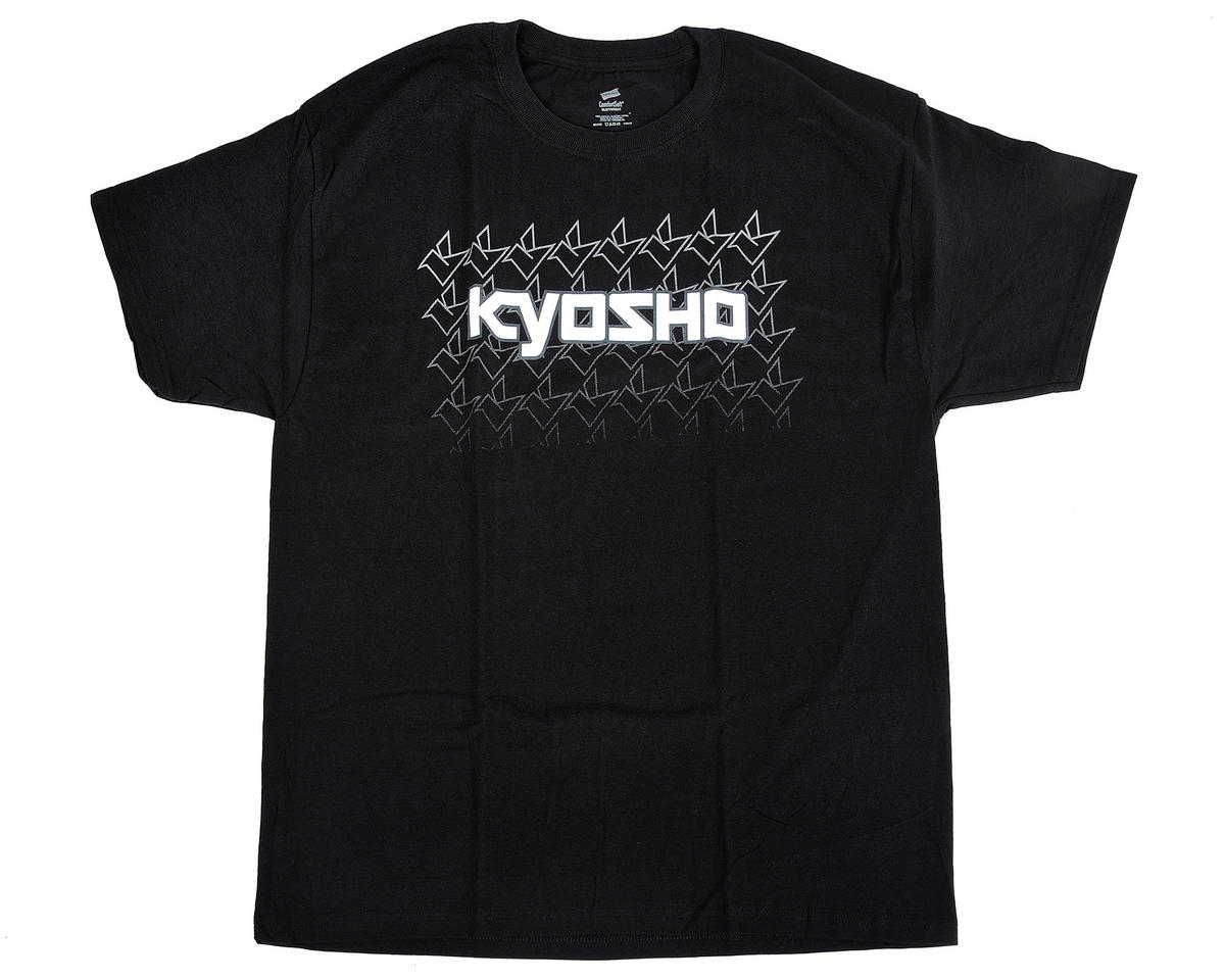 "Kyosho ""K Fade"" Short Sleeve Black T-Shirt (Large)"