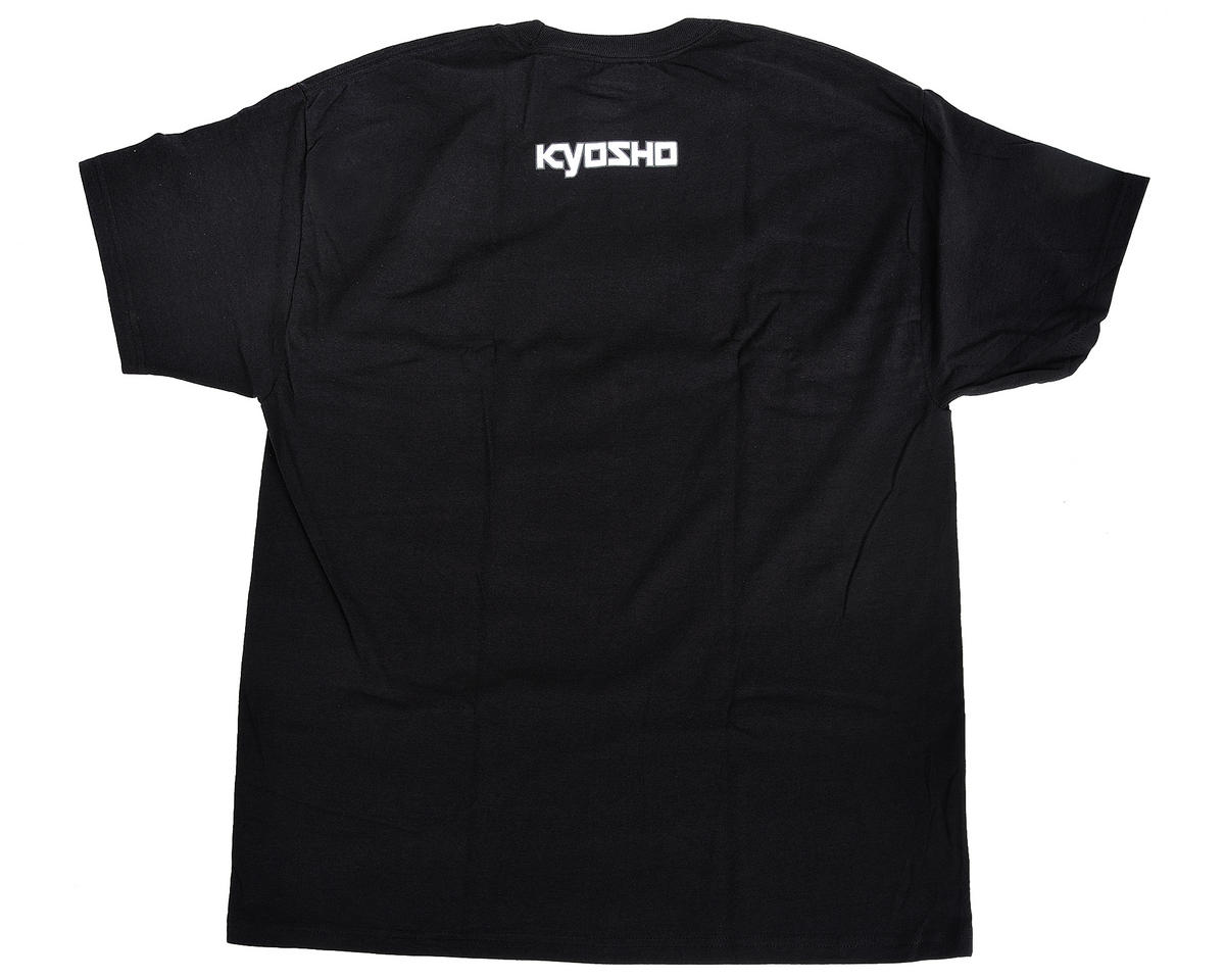 "Kyosho ""K Fade"" Short Sleeve Black T-Shirt (X-Large)"