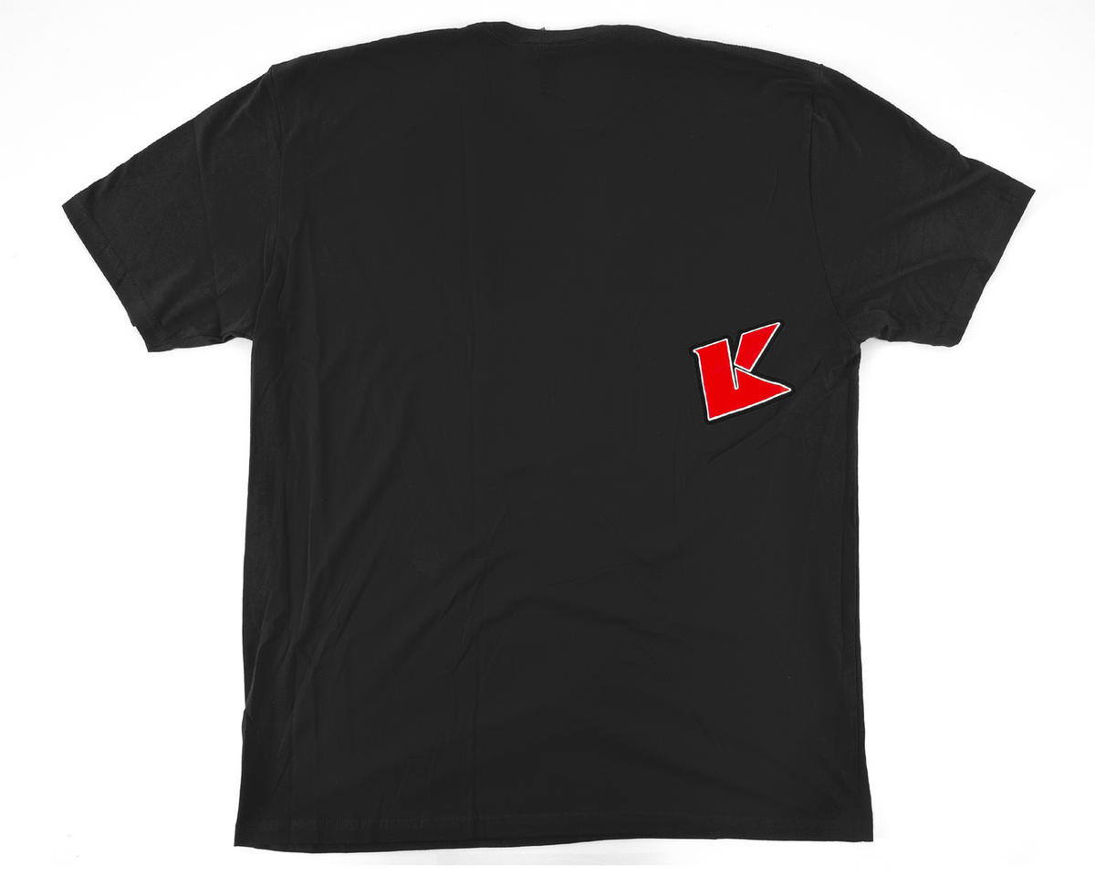 """K Fade"" 2.0 Short Sleeve T-Shirt (Black) (2XL) by Kyosho"