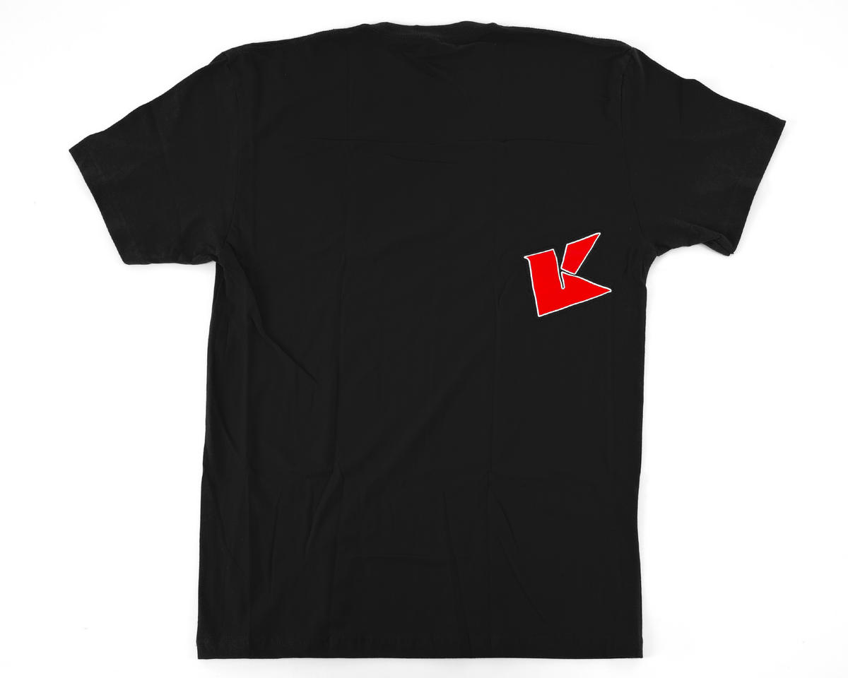 "Kyosho ""K Fade"" 2.0 Short Sleeve T-Shirt (Black) (L)"