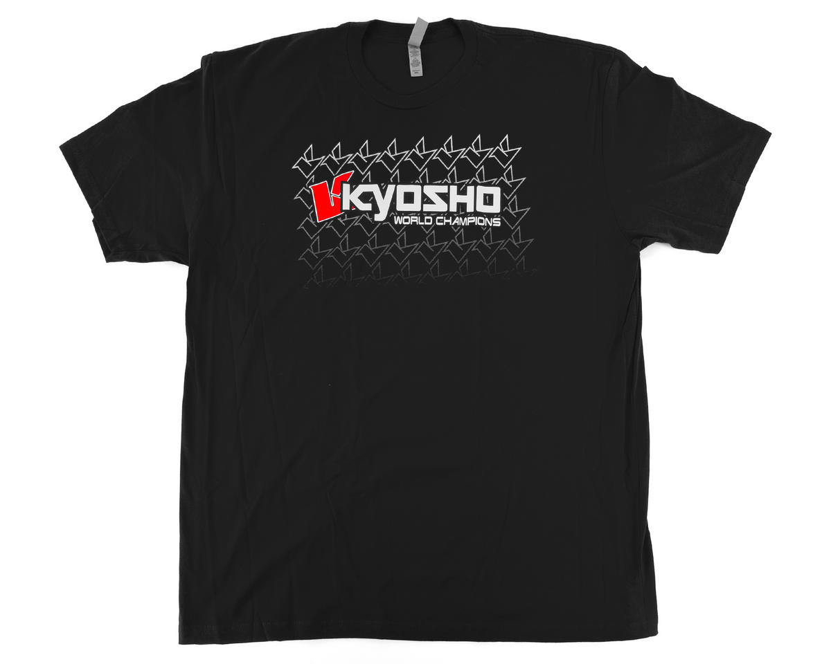 """K Fade"" 2.0 Short Sleeve T-Shirt (Black) (XL) by Kyosho"