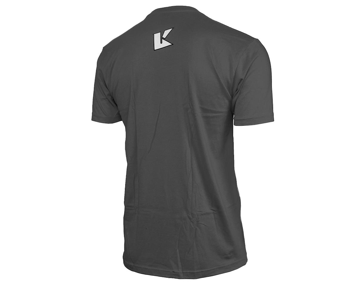 "Kyosho ""K Circle"" Short Sleeve T-Shirt (Grey) (2XL)"