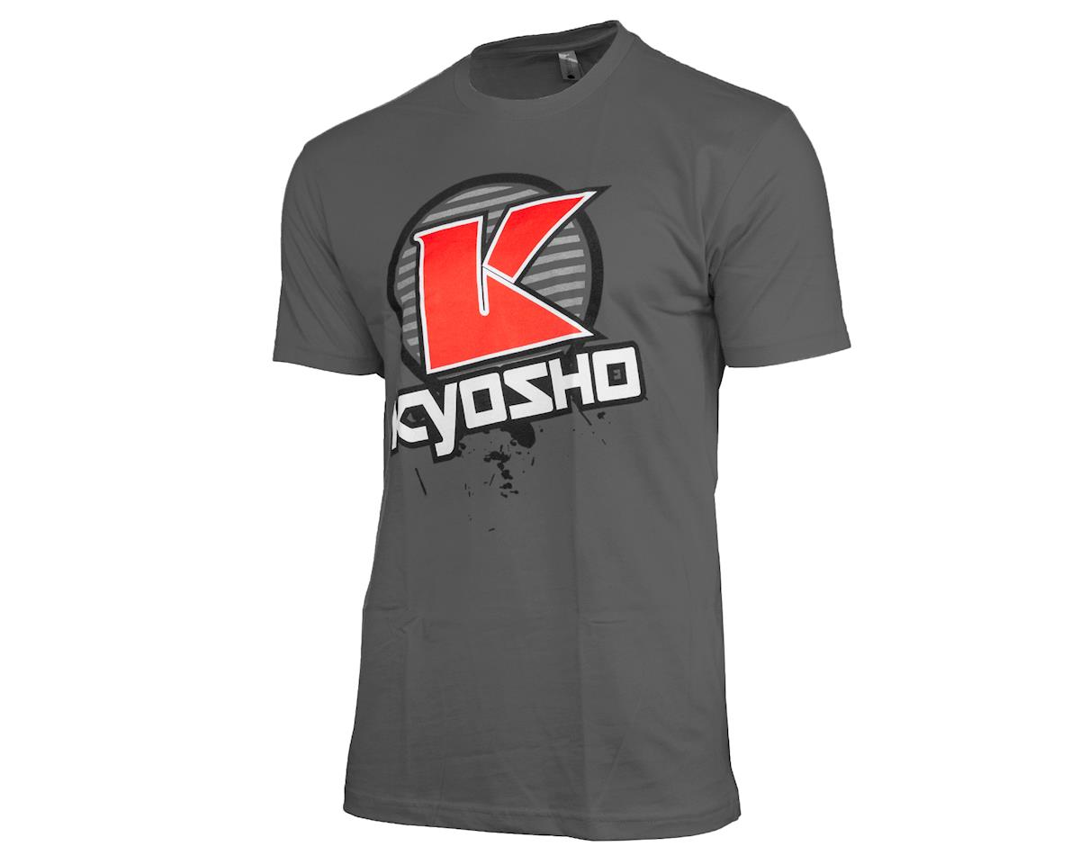 "Kyosho ""K Circle"" Short Sleeve T-Shirt (Grey) (XL)"