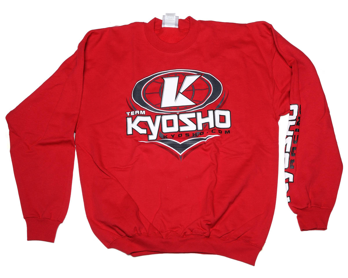 "Kyosho ""K-Oval"" Red Sweatshirt (Large)"