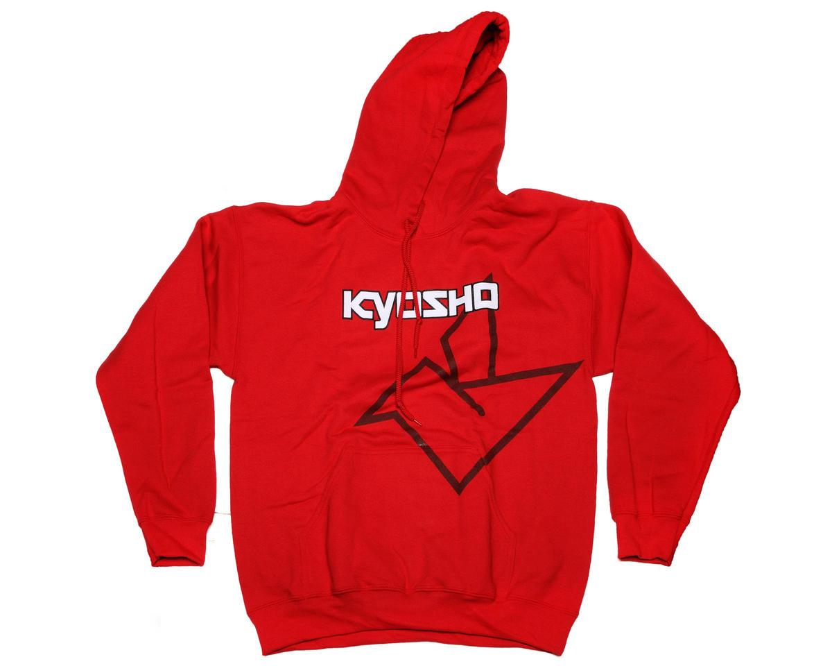 "Kyosho ""Big K"" Red Hooded Sweatshirt (Medium)"