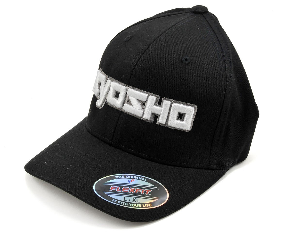 "Kyosho ""3D"" Flexfit Hat (Black)"