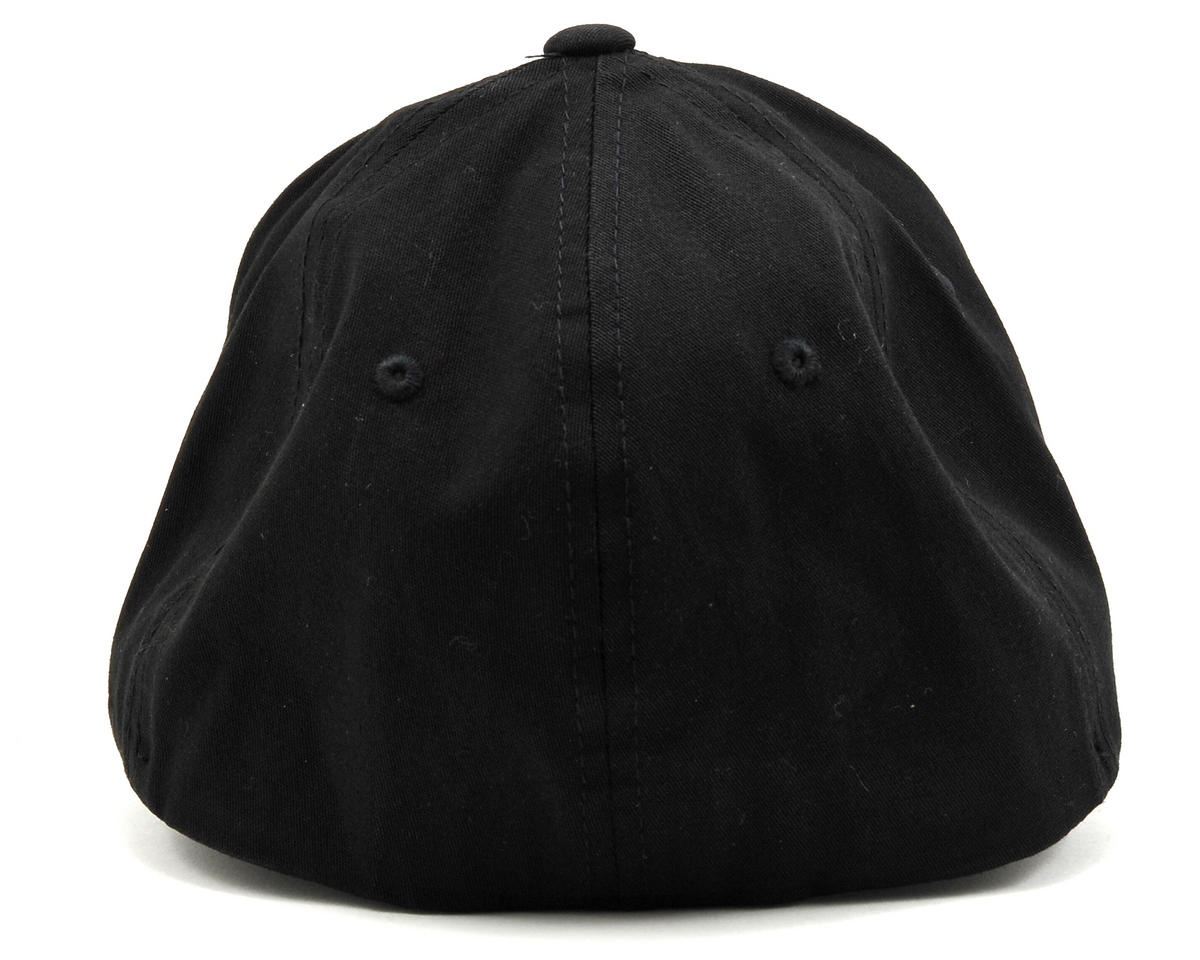 "Kyosho ""3D"" Flexfit Hat (Black) (L/XL)"