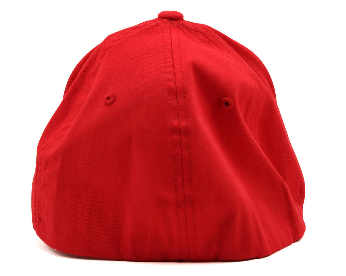 "Kyosho ""3D"" Flexfit Hat (Red) (S/M)"