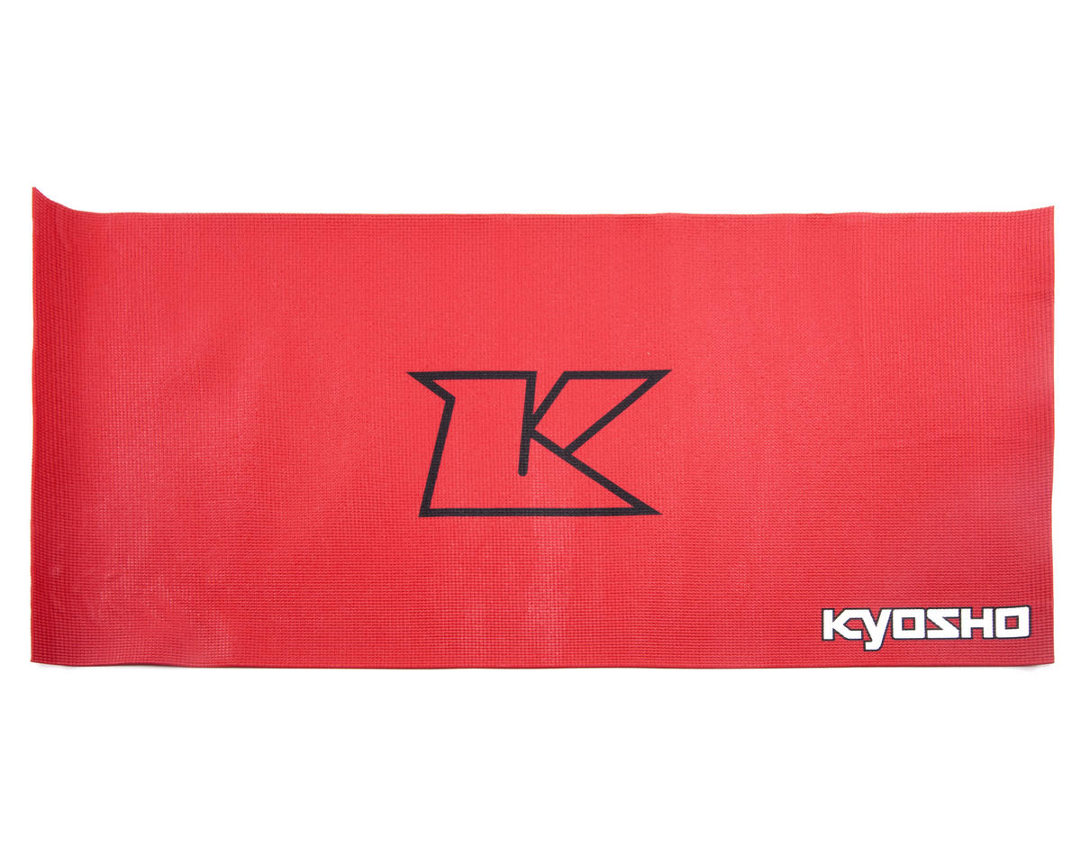 Kyosho Big K Pit Mat (Red) (122x61cm)