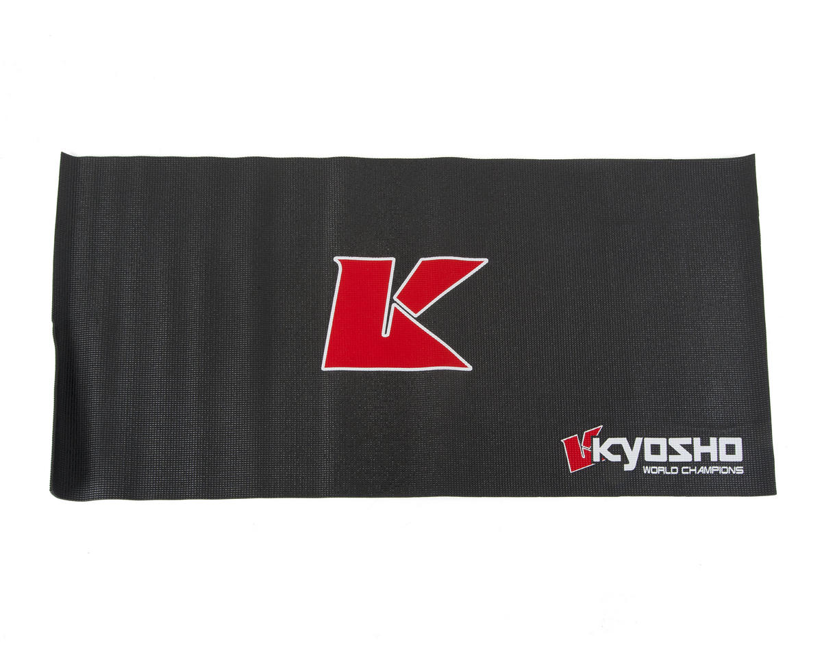 Big K 2.0 Pit Mat (Black) (122x61cm) by Kyosho