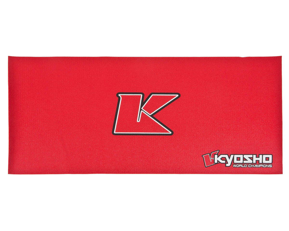 Big K 2.0 Pit Mat (Red) (122x61cm) by Kyosho
