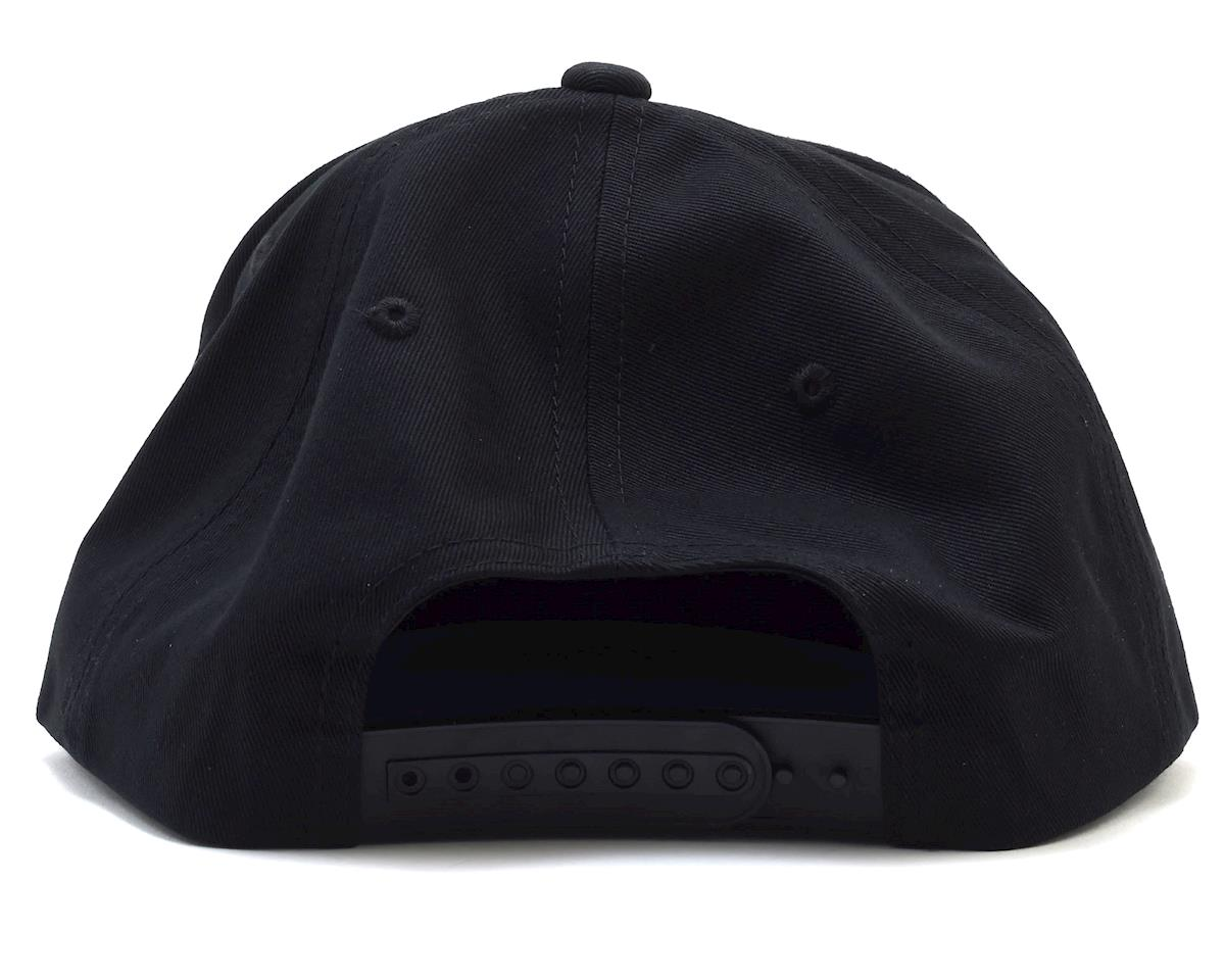Kyosho Snap Back Flat Bill Hat (Black) (One Size Fits Most)