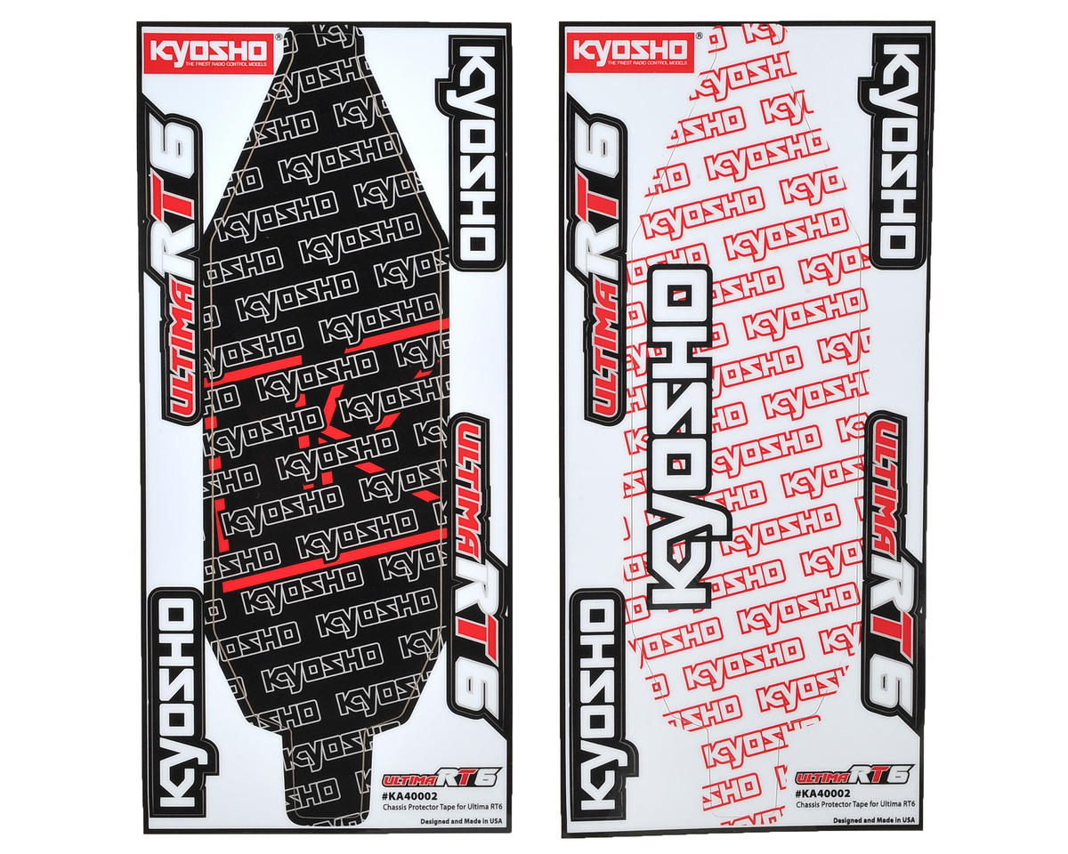 Kyosho RT6 Precut Chassis Protective Sheet (2)
