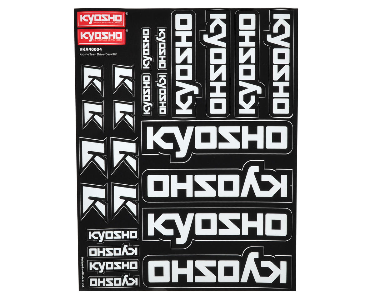 Team Decal Sheet by Kyosho