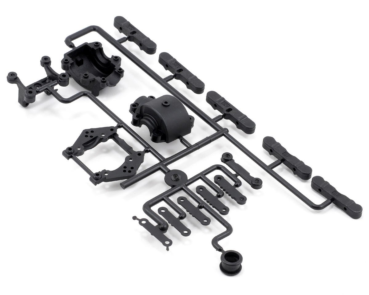 Kyosho TF-5 Rear Bulk Head & Toe Block Set
