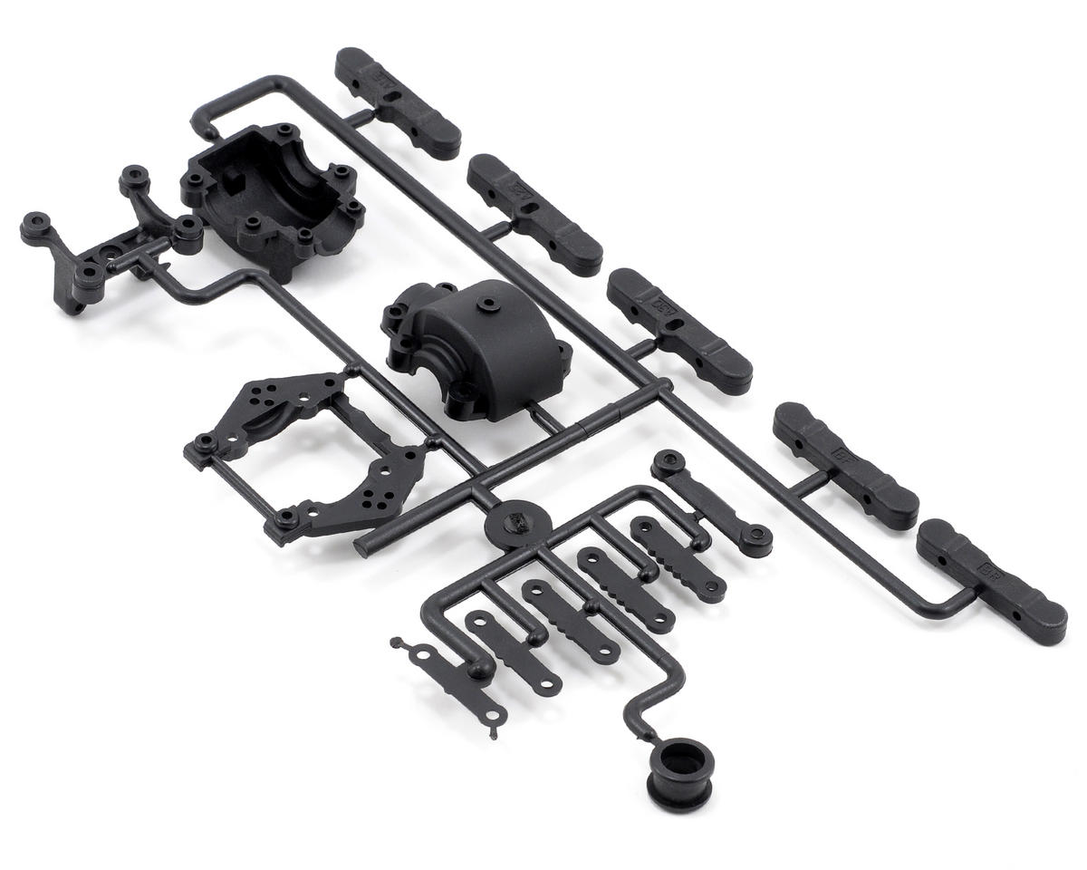 Kyosho TF-5 Stallion Rear Bulk Head & Toe Block Set