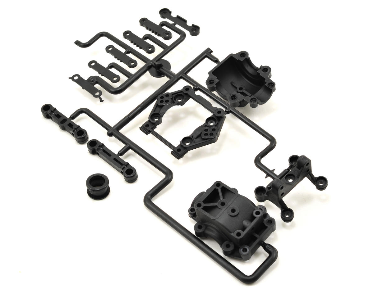 Kyosho Front Bulk Head & Toe Block Set (ZX-5 SP)