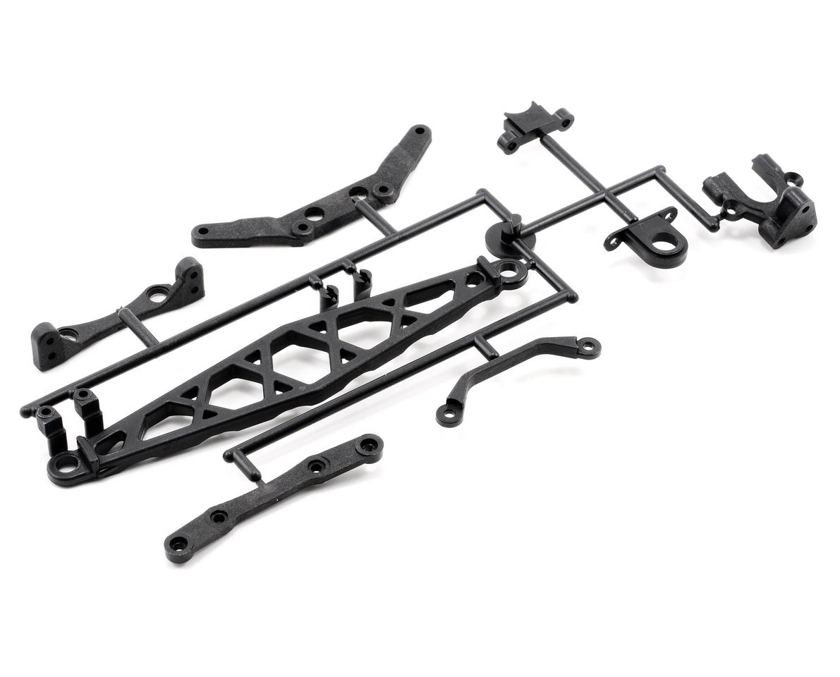 Kyosho TF-5 Center Mount & Stiffener Set (ZX-5 / FS /TF5)